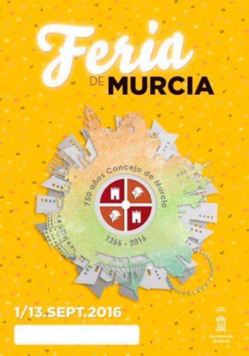 Cartel de la Feria de Murcia