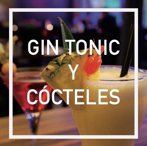 gin tonic y cocteles escrito