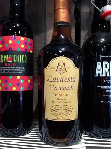 botella de lacuesta vermouth